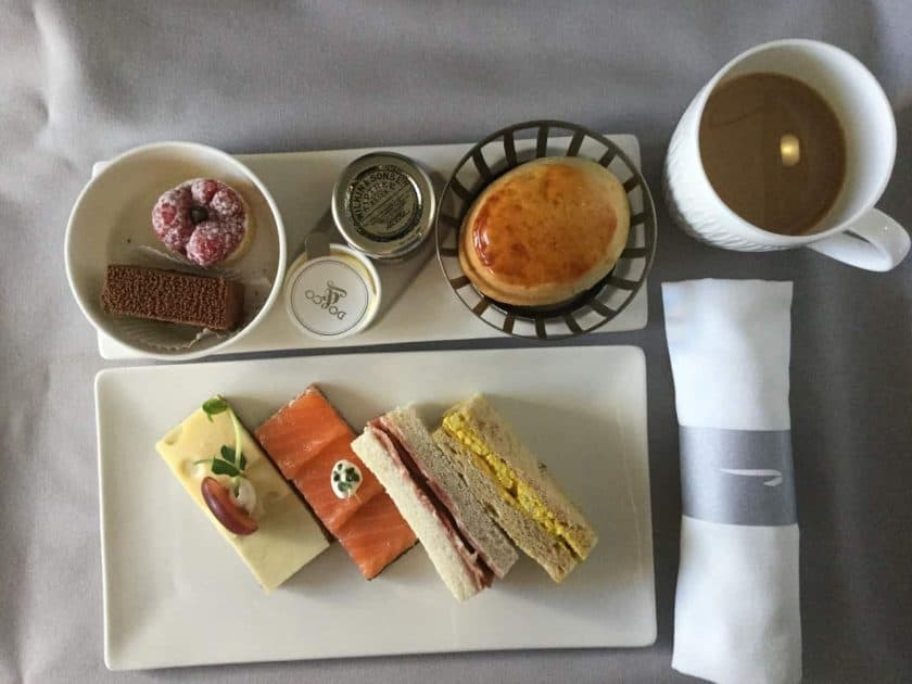 ba clubworld 747 afternoon tea 1