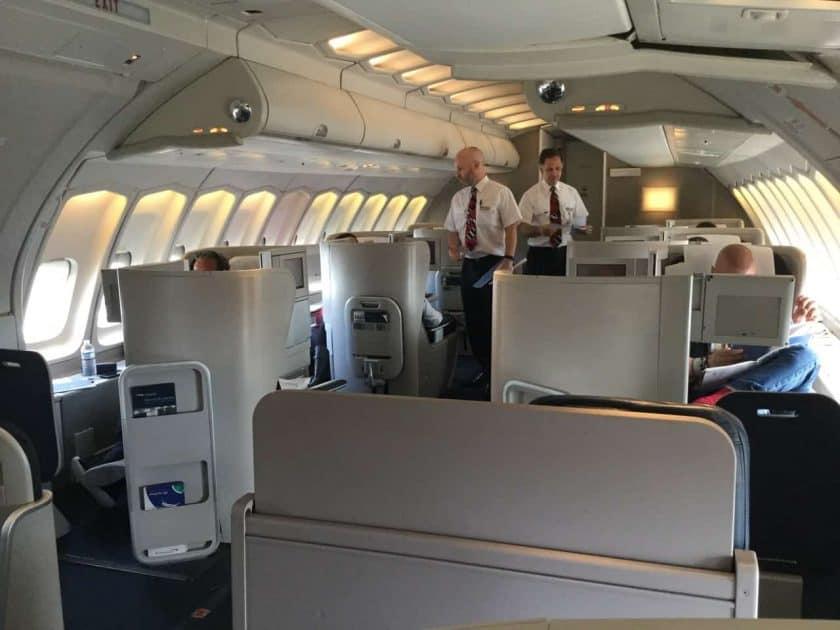 ba clubworld 747 kabine upperdeck