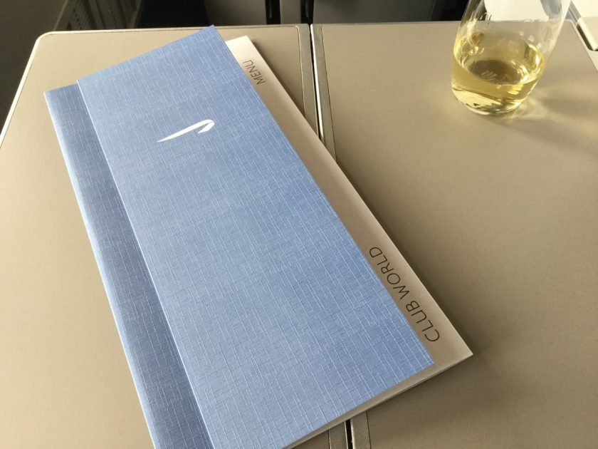 ba clubworld 747 new menue