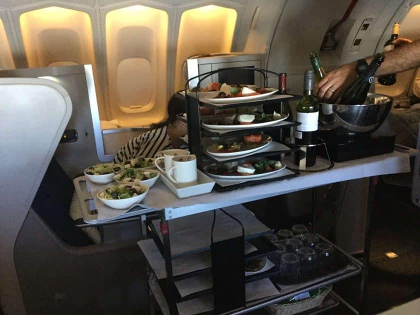 ba clubworld 747 starter trolley