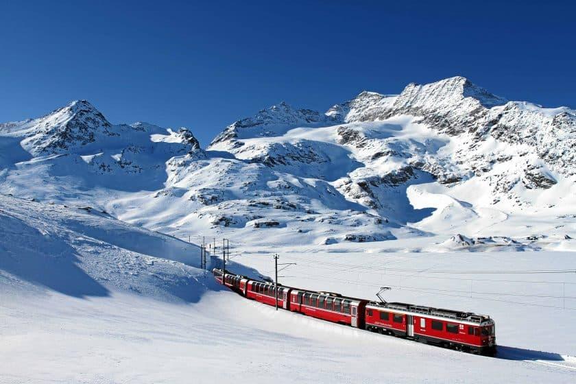 Rhaetische Bahn Bernina Express