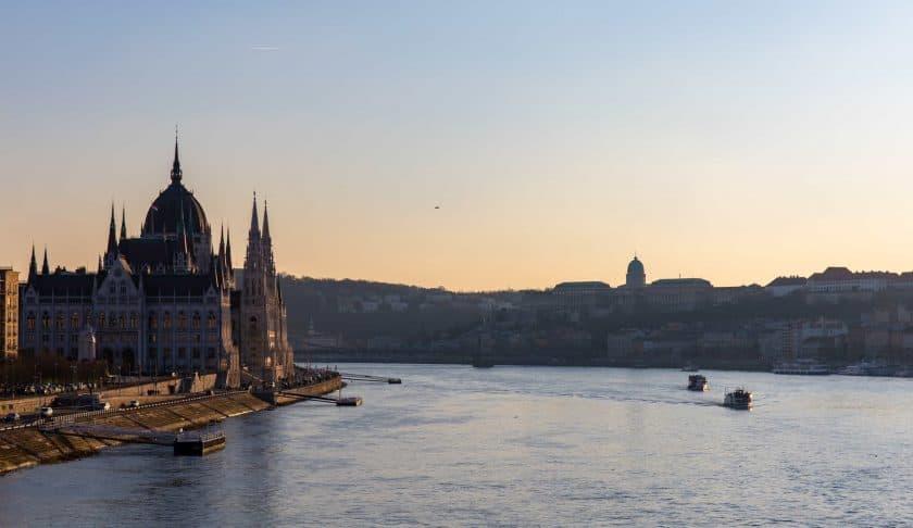 Budapest Panorama Parlament Donau