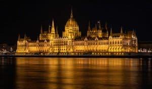 Budapest Parlament Nacht