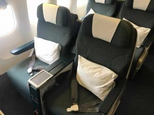 Cathay Pacific Business Class Review Seat scaled