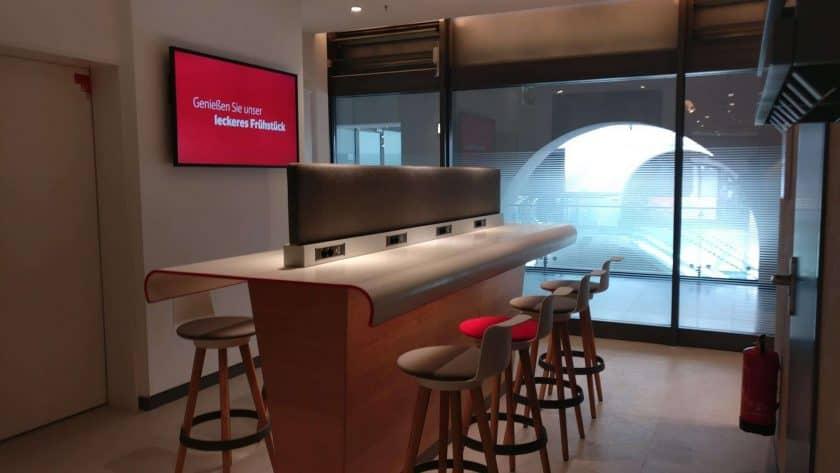 DB Lounge Arbeitsbereich