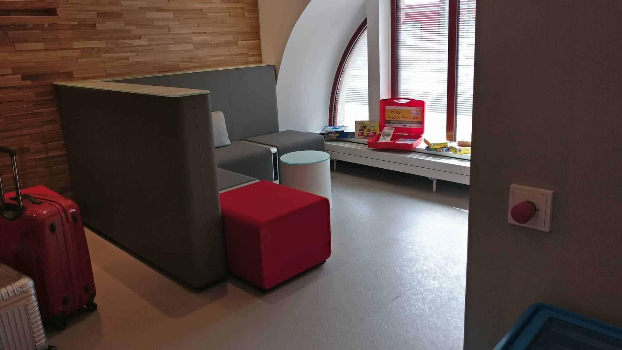DB Lounge Spielbereich