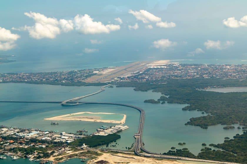 Denpasar Airport Bali Indonesien