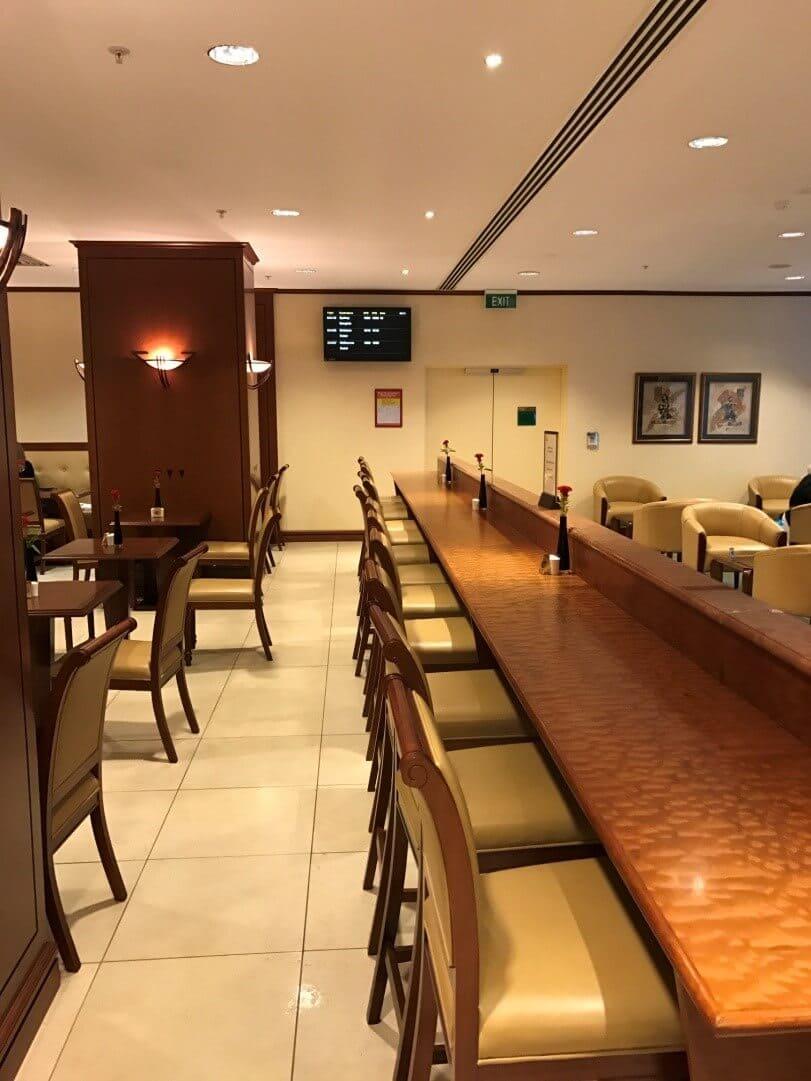 Emirates Lounge Auckland Arbeitsbereich