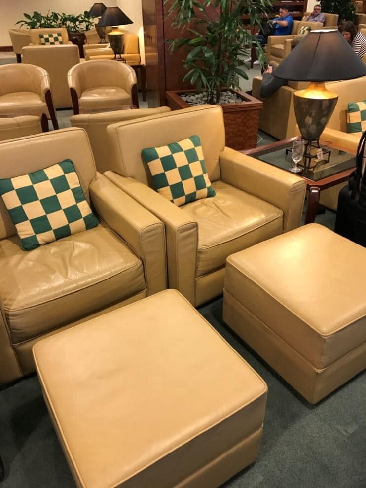 Emirates Lounge Auckland Sessel