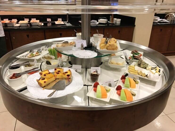 Emirates Lounge Auckland Buffet