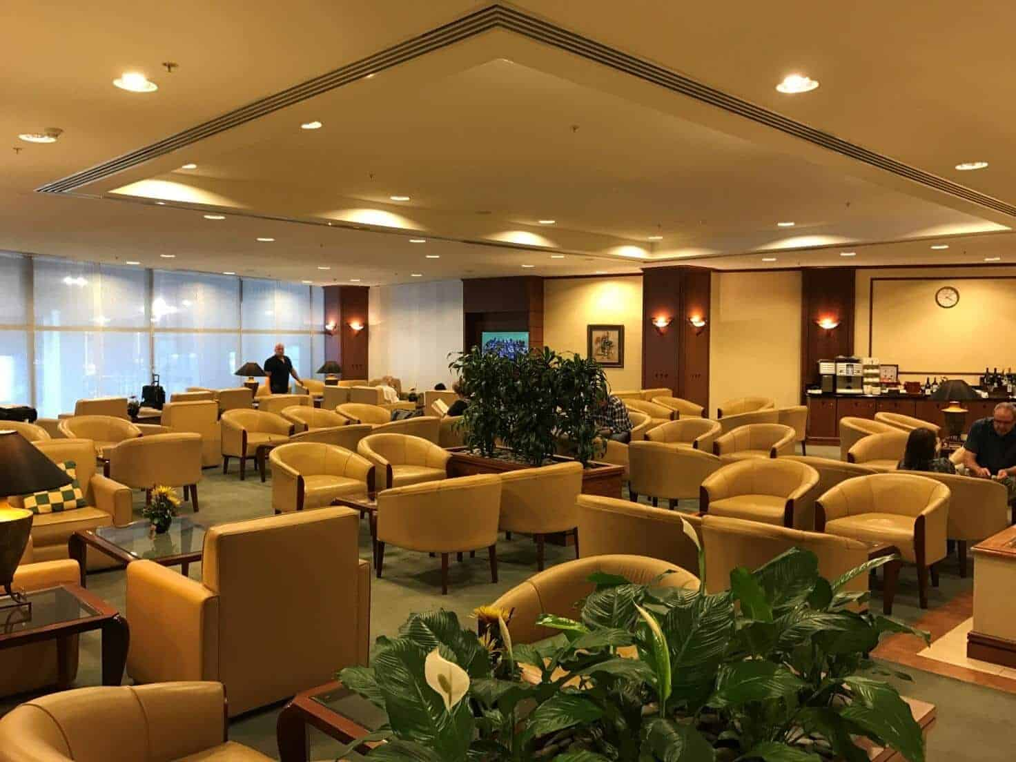 Emirates Lounge Auckland Sitzbereich