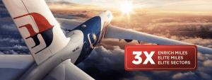 Malaysia airlines dreifache Meilen oct18
