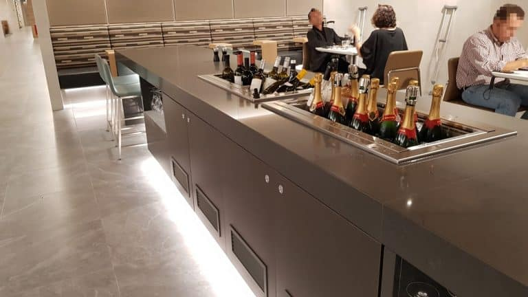 flagship lounge ord champagner