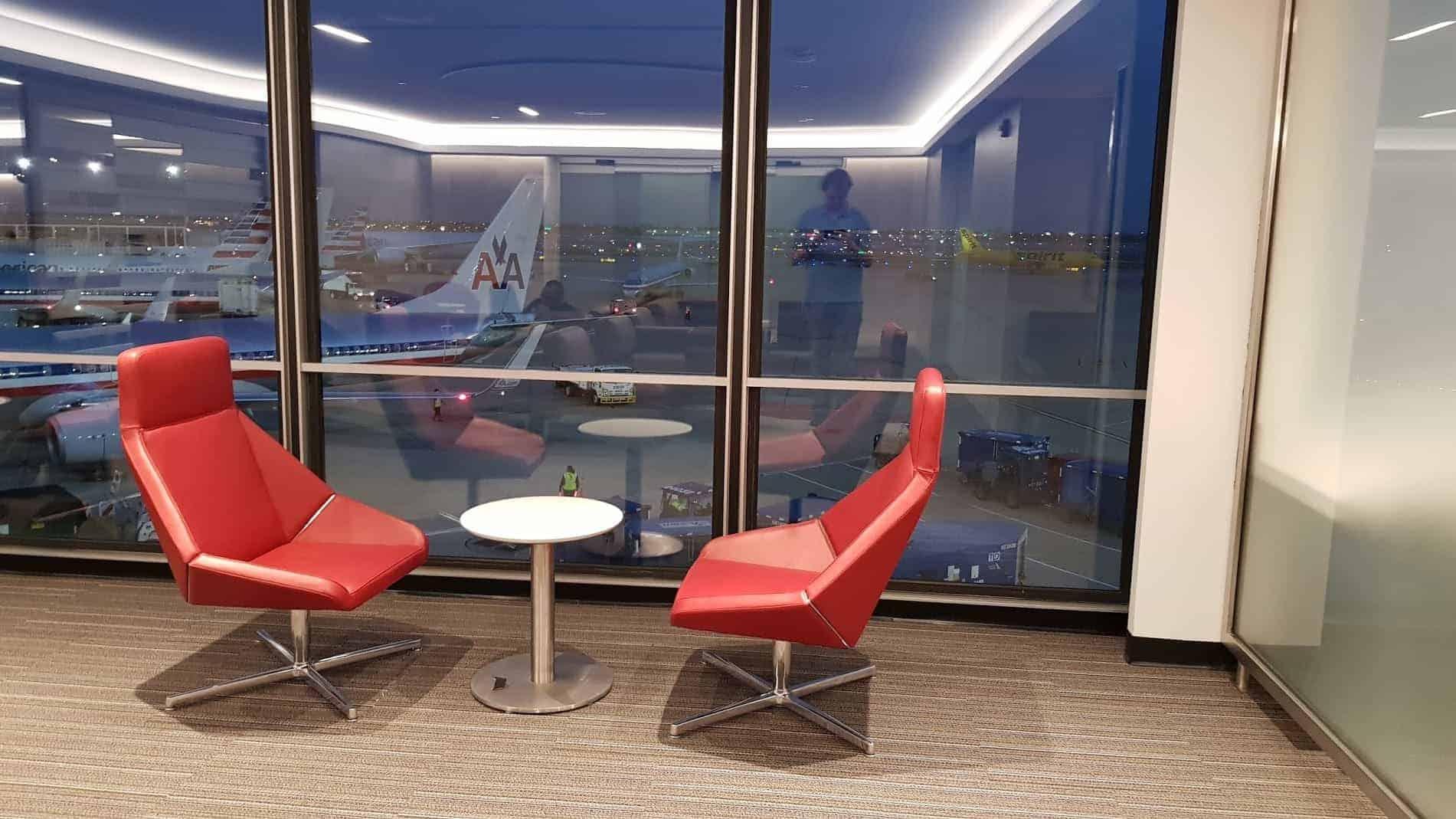 flagship lounge ord sitze mit aussicht