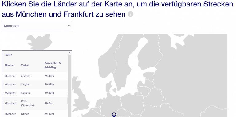 Lufthansa Timepass: Innereuropäische Flugzeit zum Festpreis ...