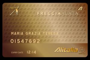 Alitalia MilleMiglia Freccia Alata