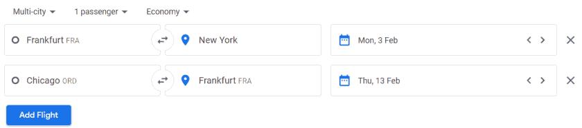 gabelflug google flights