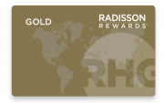 Radisson Rewards Gold Karte