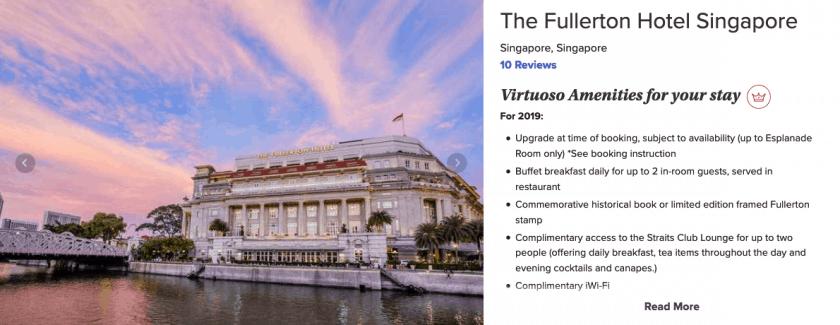 Virtuoso Fullerton Singapore 2019