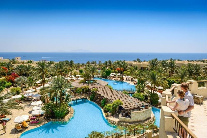 Grand Hotel Sharm Außenanlage