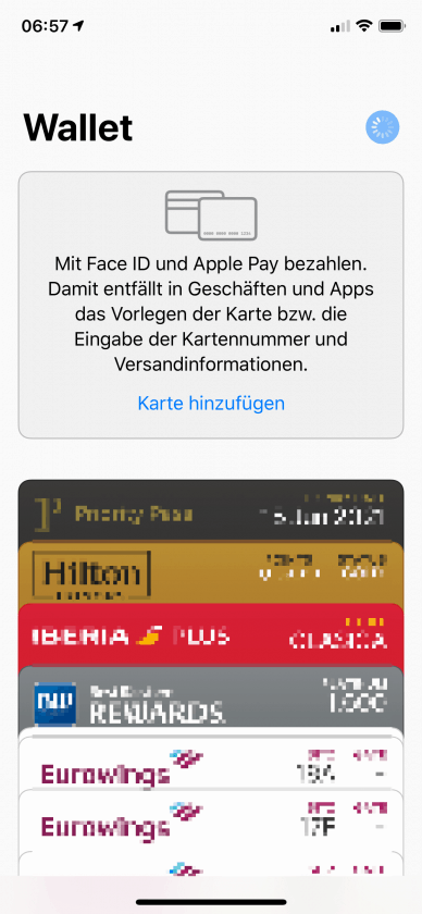 iPhone Wallet Apple Pay