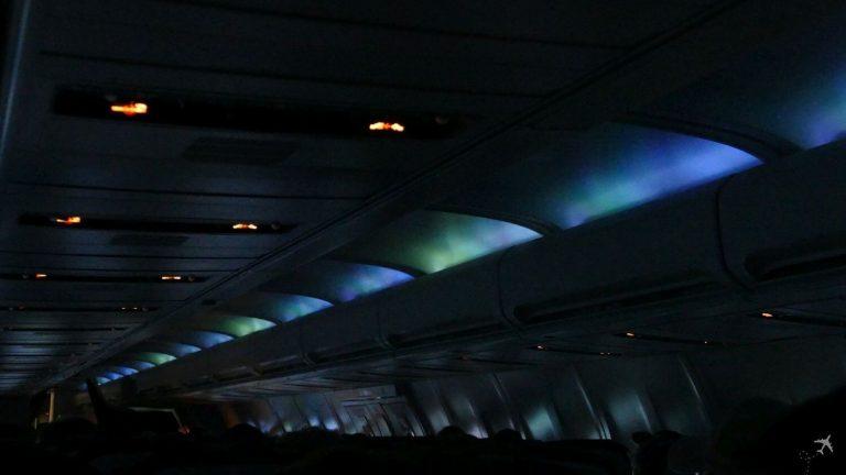 Icelandair Kabine Aurora