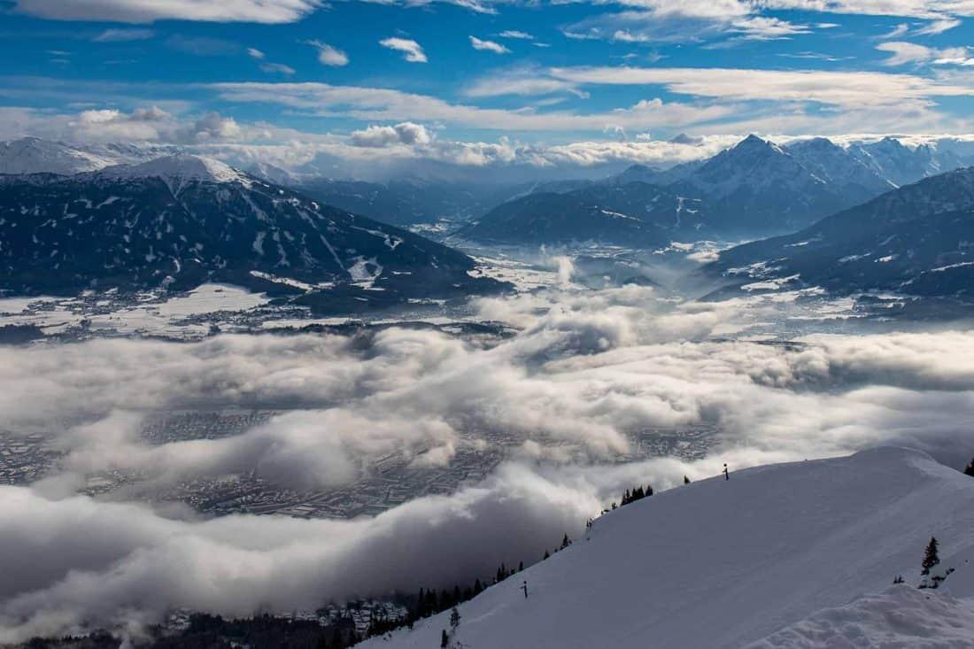 Innsbruck vom Hafelekar