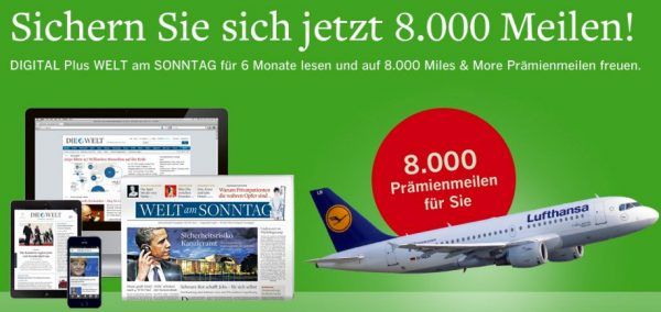 Die Welt Digital 6 Monate