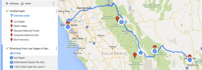 Roadtrip mit Yosemite National Park