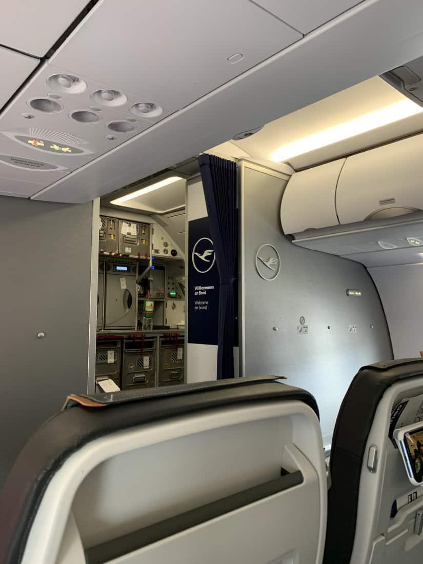 Kabine Lufthansa A321neo