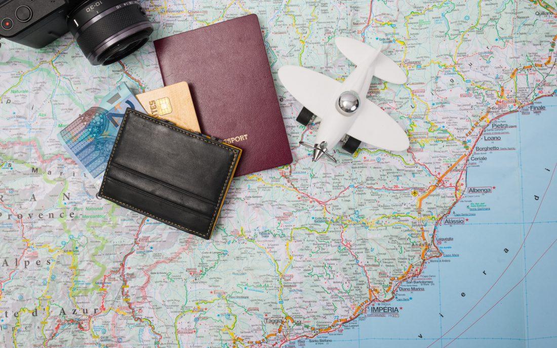 Kreditkarte Reisepass