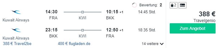 kuweit airlines bangkok