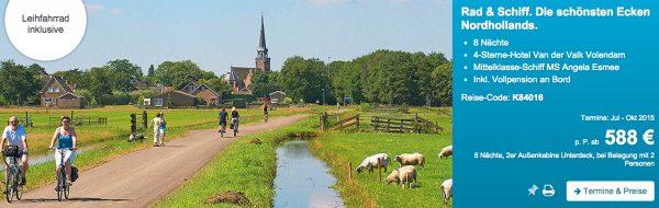 Rad & Schiff Tour Niederlande