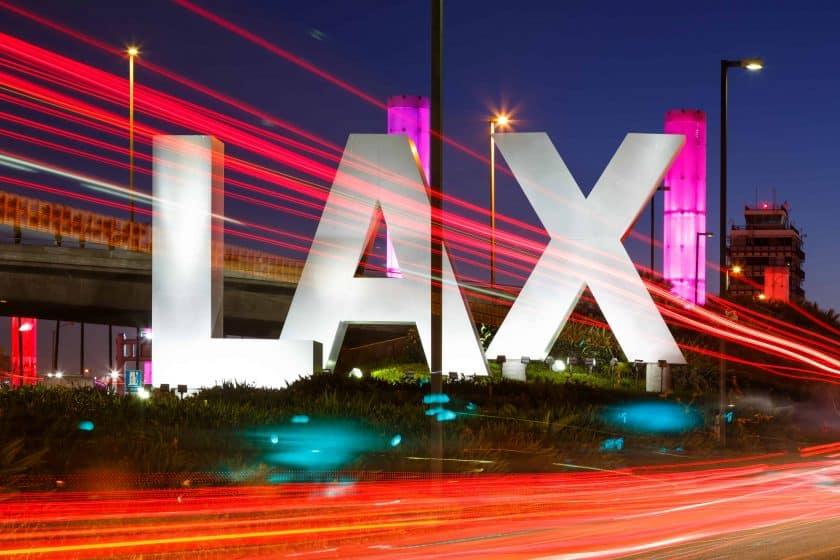 Flughafen Los Angeles International Airport LAX Logo
