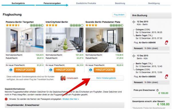 Travelstart Flug&Hotel-Reise