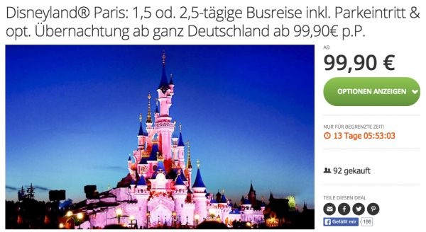 Groupon Disneyland Paris