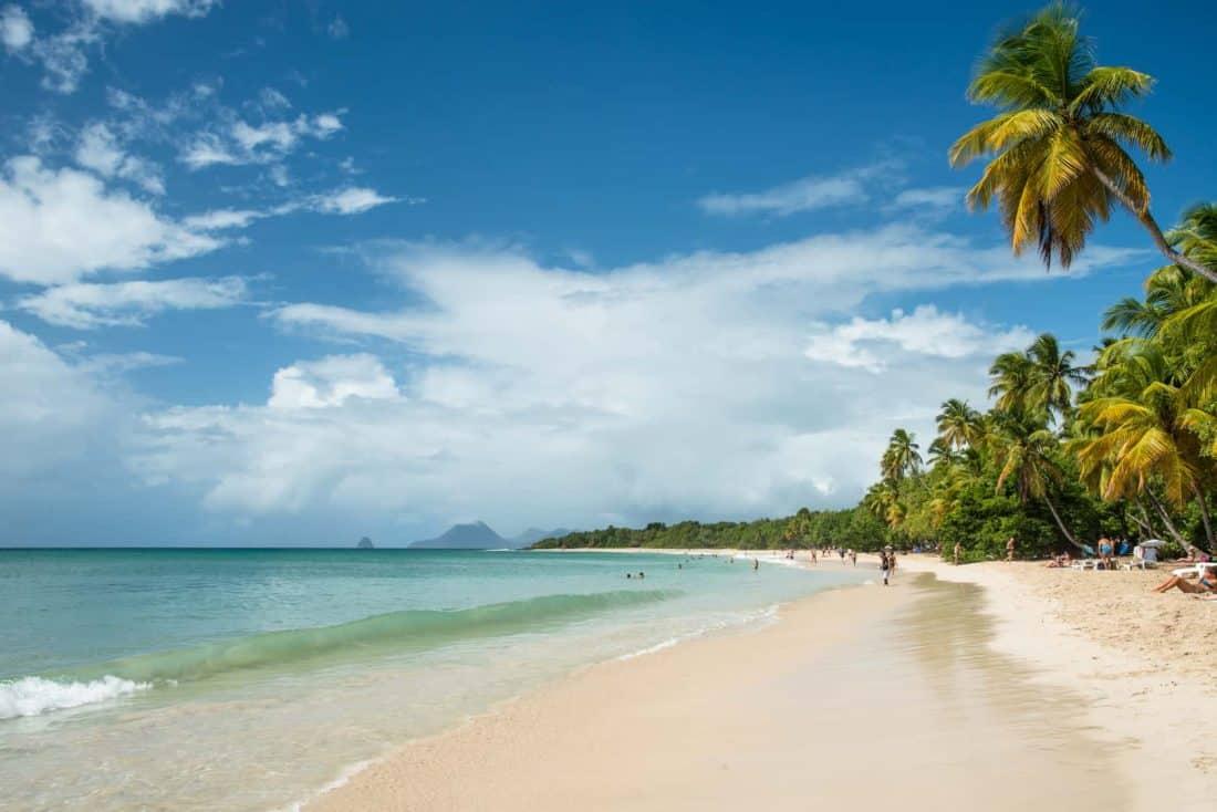 Strand auf Martinique