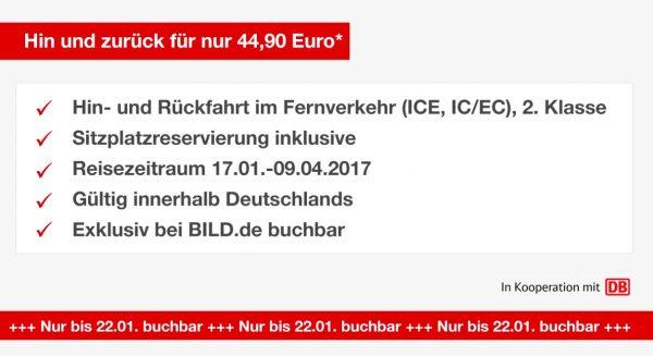 Deutsche Bahn Bild.de Festpreis