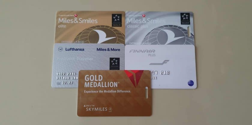 mileage cards