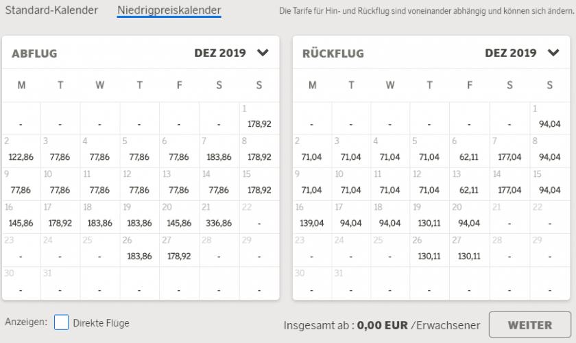 niedrigpreiskalender