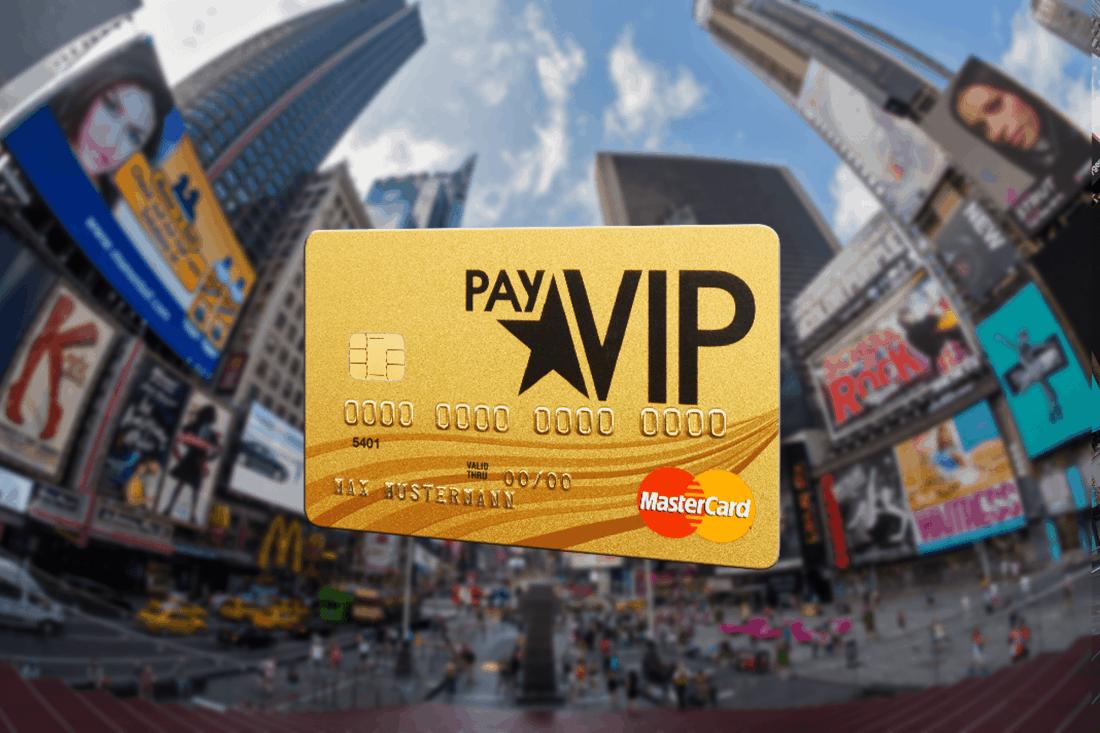 payVIP Kreditkarte