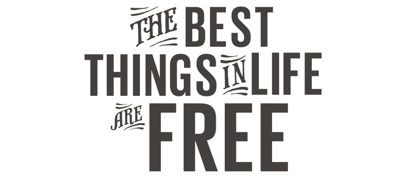 Lonely Planet The Best Things in Life are Free Titel