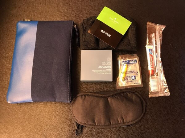 Qantas Airbus A330-200 Business Suite Amenity Kit