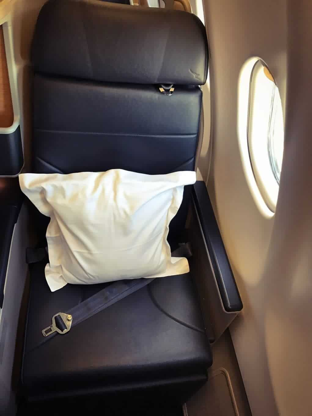 Qantas Airbus A330-200 Business Suite Fenstersitz
