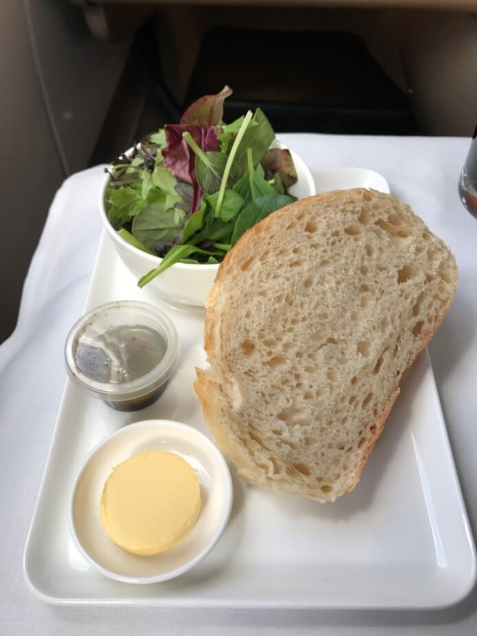 Qantas Business Suite Salat