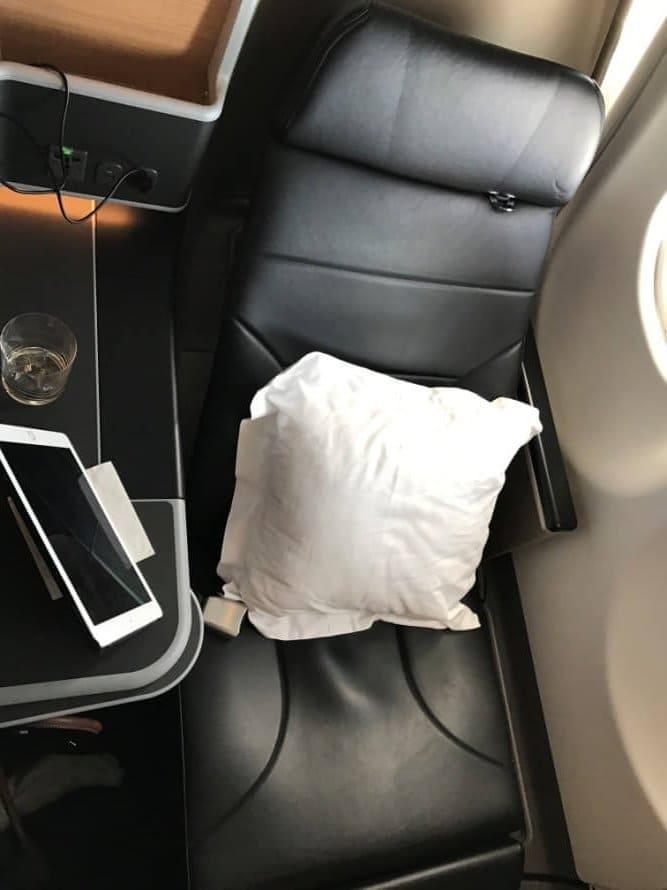 Qantas Airbus A330-200 Business Suite Sitz