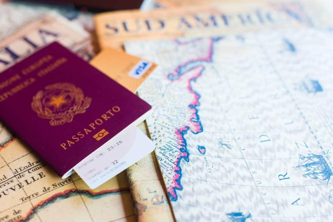 Reisepass Kreditkarte