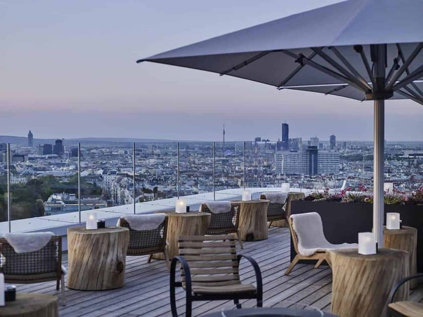 rooftop bar andaz wien