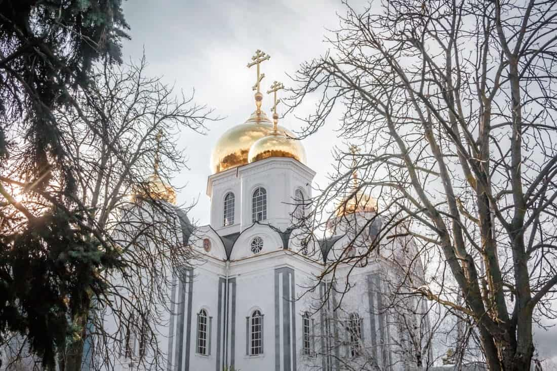 russia, krasnodar, cathedral