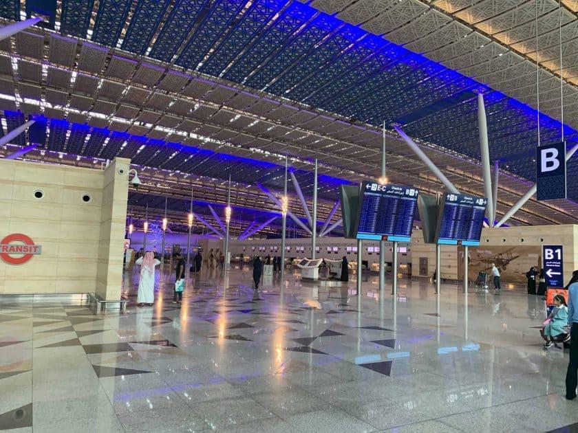 Saudi Arabien Flughafen